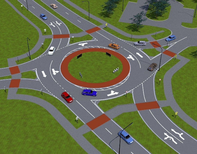 roundabout graphic
