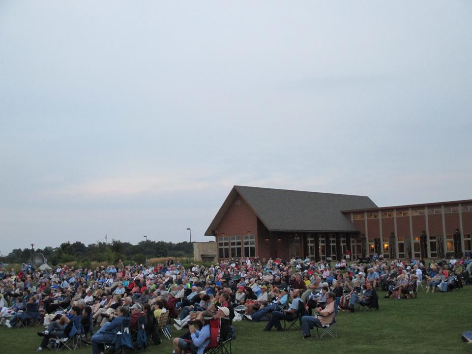 Audience at Picnic on the Prairie