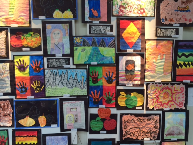 Artwork by Echo Hill Elementary Students