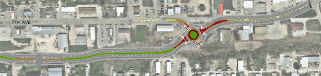 marion iron roundabout rendering