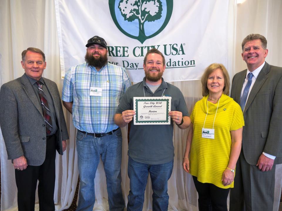 Tree City USA 2016 award