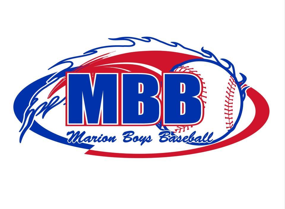 Marion Boys Baseball Logo