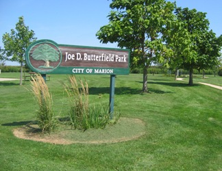 Butterfield Park Signage