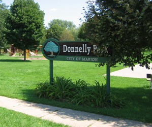 Donnelly Park Signage