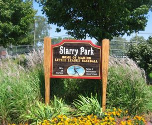 Starry Park Signage