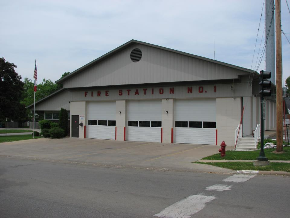 fire station 1 exterior