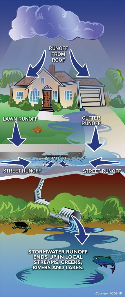 graphic of stormwater