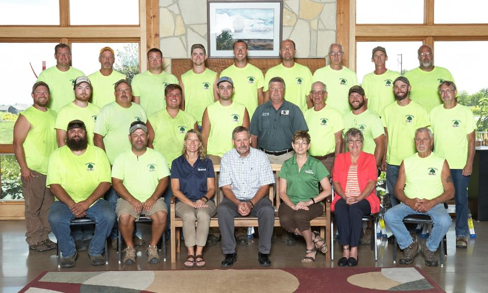 Marion Parks Employees-2018