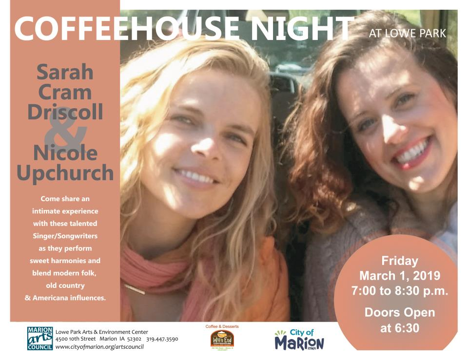 Coffee House Night  March 1, 2019
