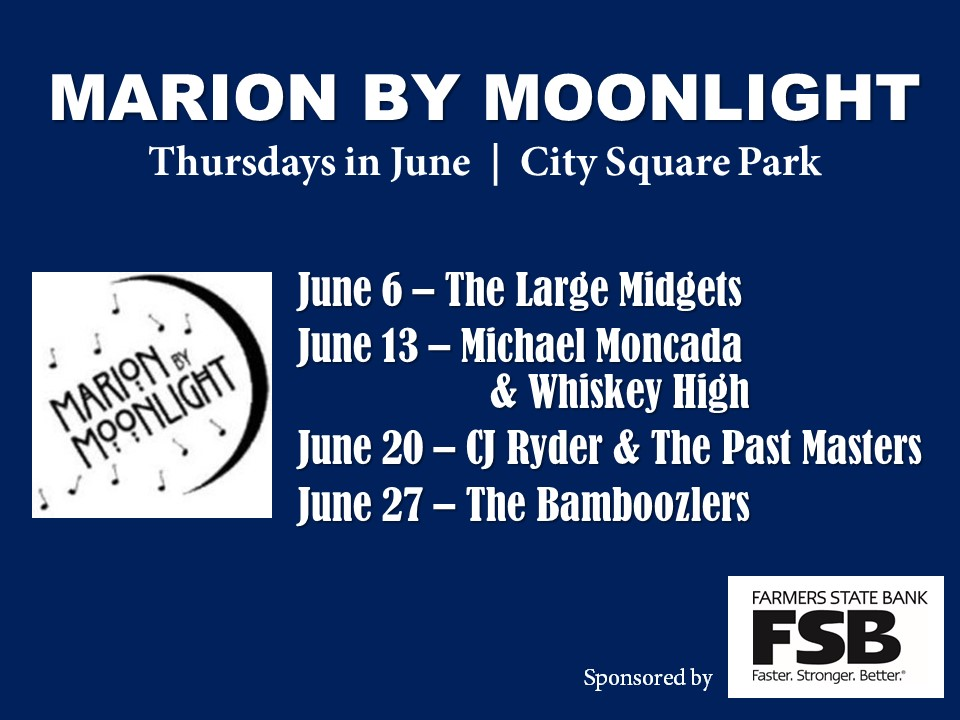 Marion by Moonlight 2019 schedule