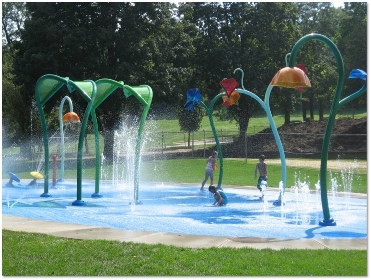 Thomas Park Splash Pad